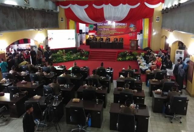 Gubernur Sumsel Hadiri Paripurna HUT ke-5 Tahun Kabupaten PALI