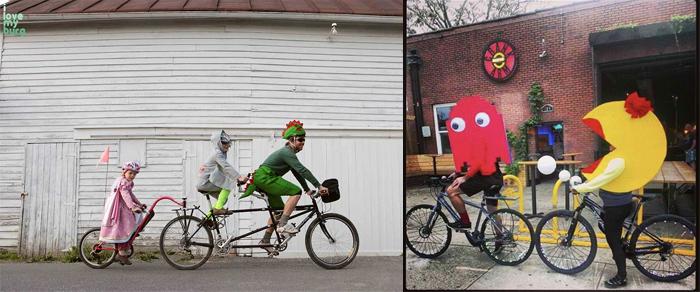 Halloween Bicycle Parade