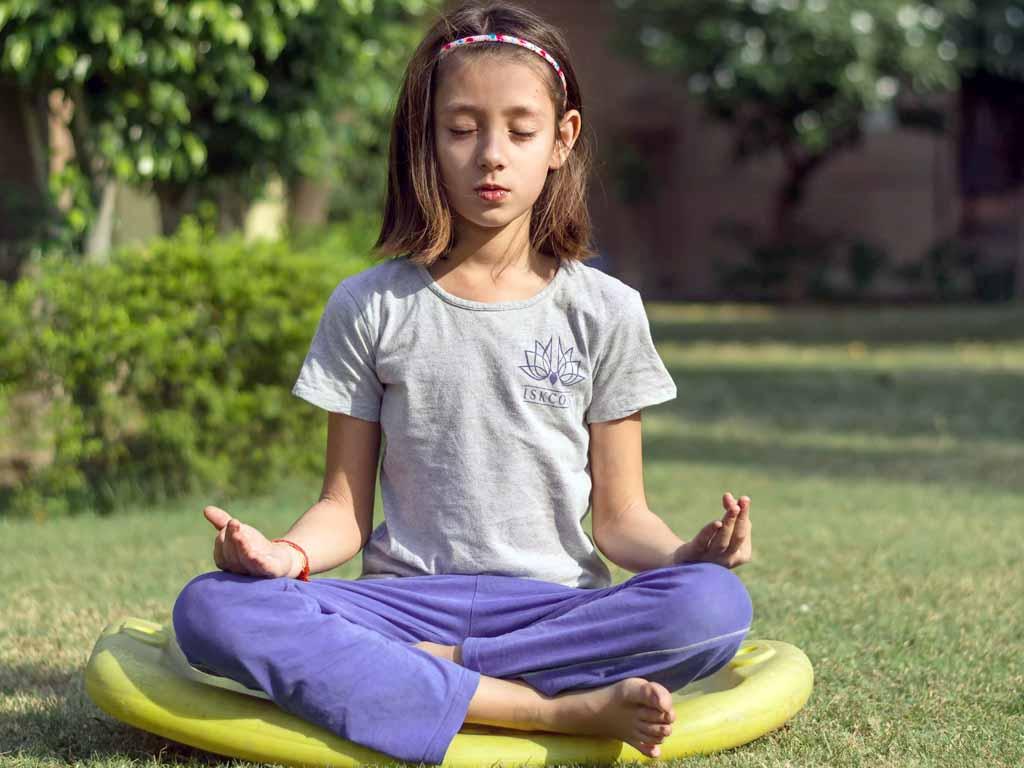 La meditación en los niños