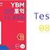 Listening YBM Practice TOEIC LC 1000 - Test 08