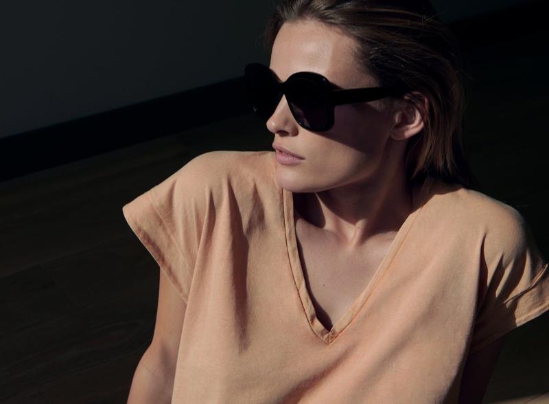 Edita Vilkeviciute for Zara Spring/Summer 2020 Lookbook