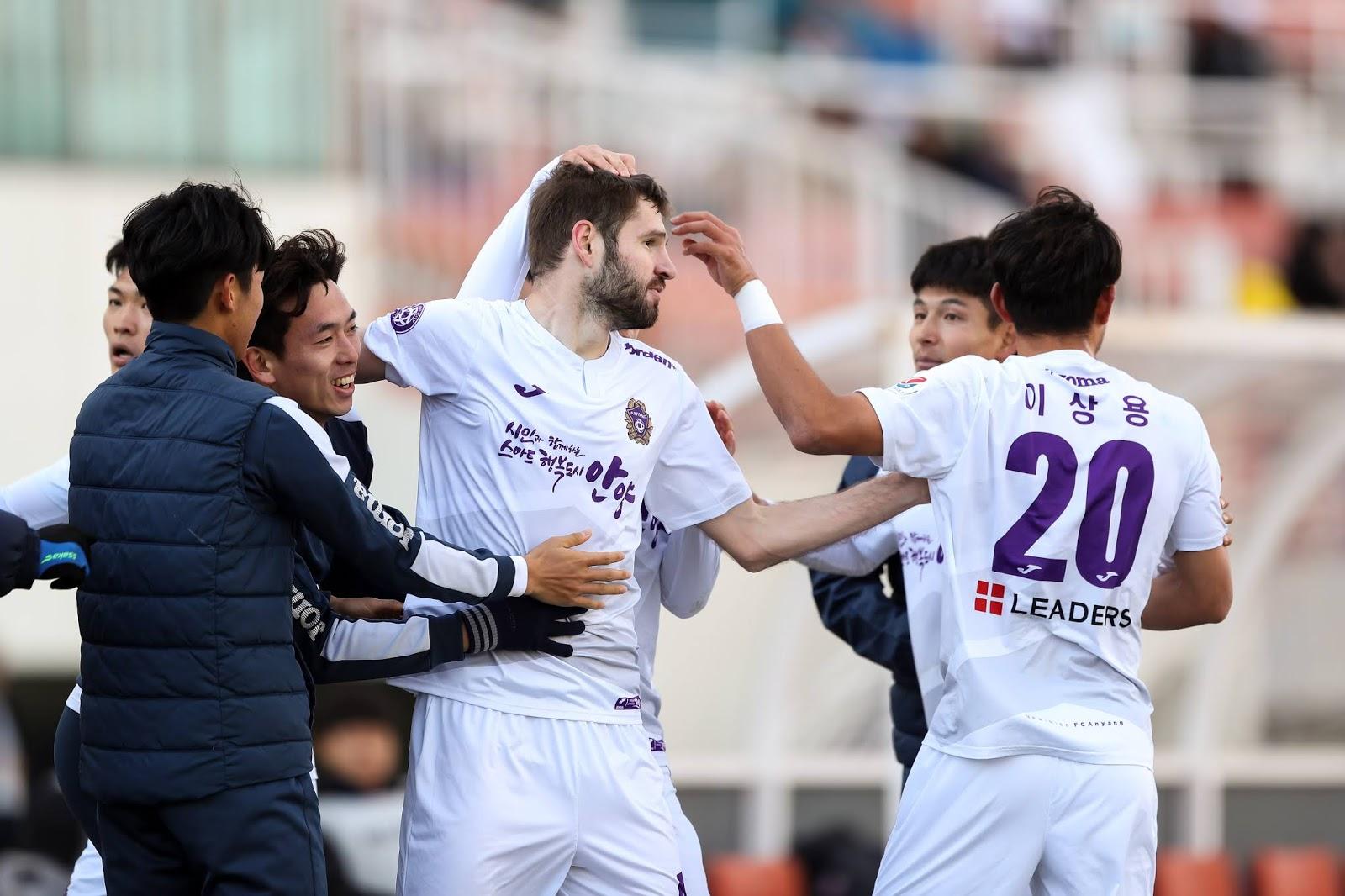 Preview: Gwangju FC vs FC Anyang K League 2 Round 5 Mykola Kovtalyuk