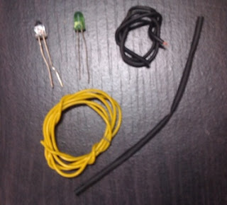 kabel dan lampu led