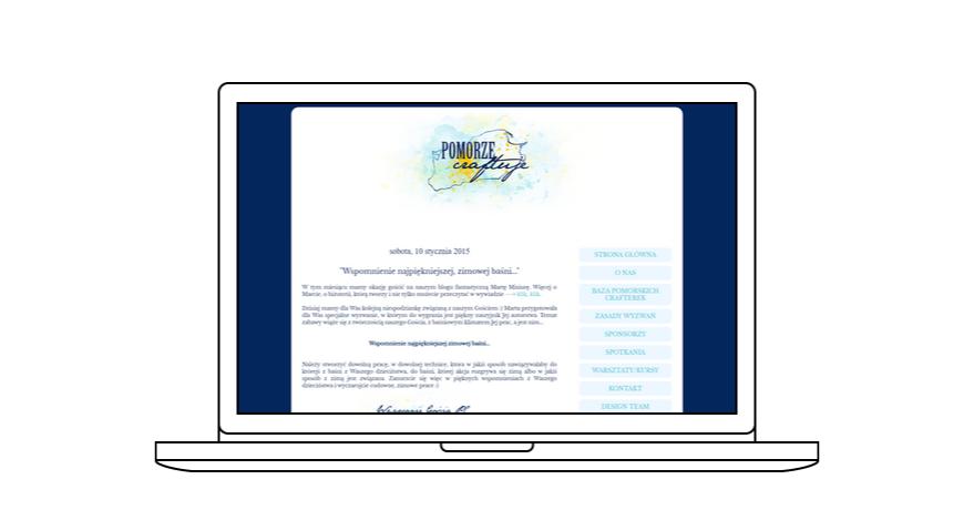 projekt bloga Pomorze Craftuje