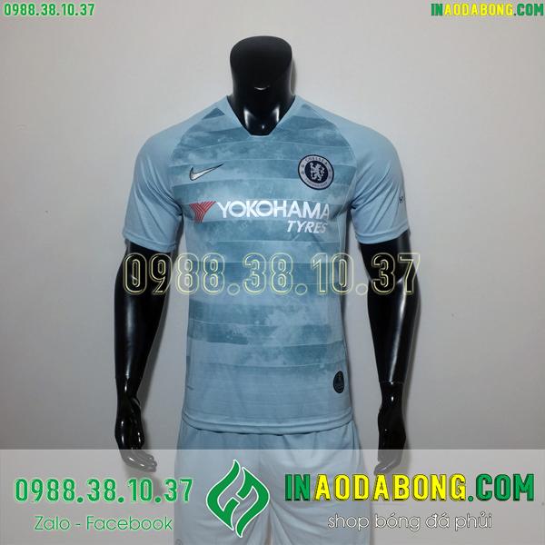 Áo bóng đá câu lạc bộ Chelsea xanh mốc