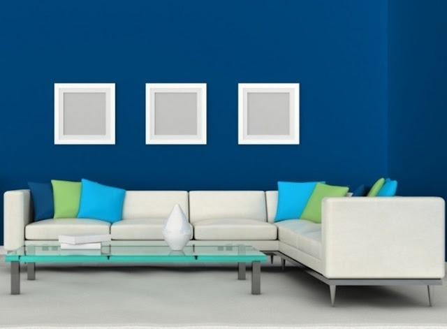 Perpaduan warna cat interior rumah - Kombinasi warna cat rumah bagian dalam modern