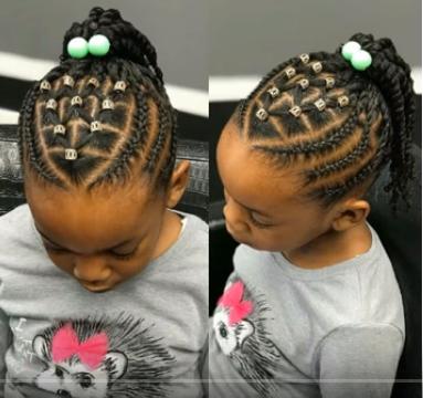 Nigerian Children Hairstyles | Latest Ankara Styles
