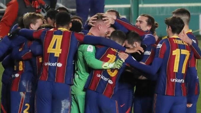 بشق الانفس.. برشلونة يعبر سوسيداد بركلات الترجيح ويتأهل لنهائي السوبر