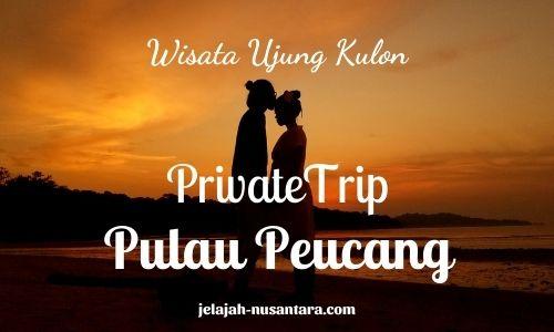 paket wisata private trip pulau peucang ujung kulon