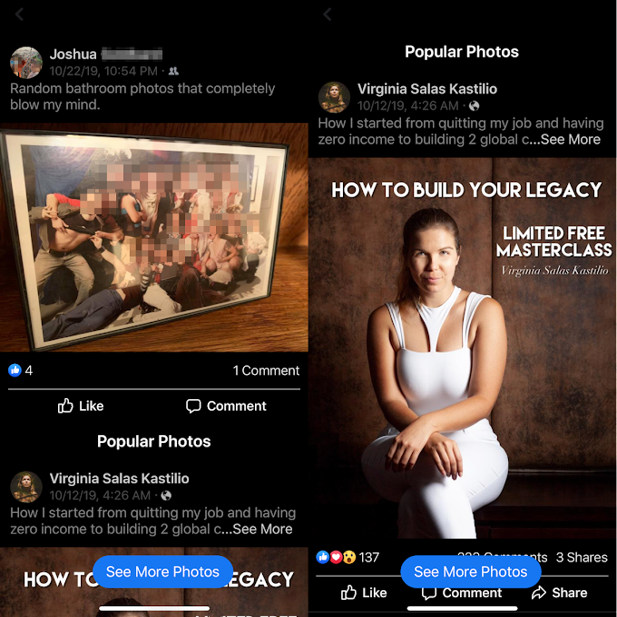 Facebook teste les Photos populaires d'Instagram