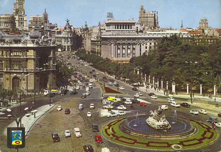 Madrid Of The 1960 S Vintage Everyday