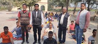 स्वस्थ जीवन जीने का विज्ञान है योगः डा. पंकज सिंह | #NayaSaberaNetwork