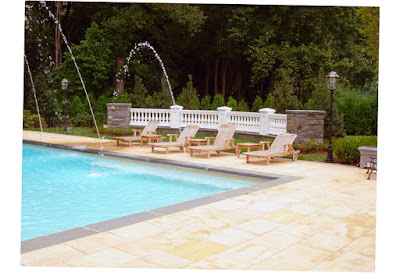 Cipriano Landscape Design & Custom Swimming Pools Custom Swimming Pool With Garden Structure Pic