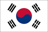 Le Chameau Bleu - Drapeau Corée