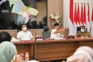 Bupati Batu Bara Rangkul BPK RI Perwakilan Provsu Dorong Kemandirian Fiskal Daerah