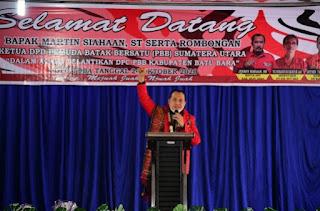 Bupati Batu Bara Hadiri Pelantikan Pengurus DPC Pemuda Batak Bersatu