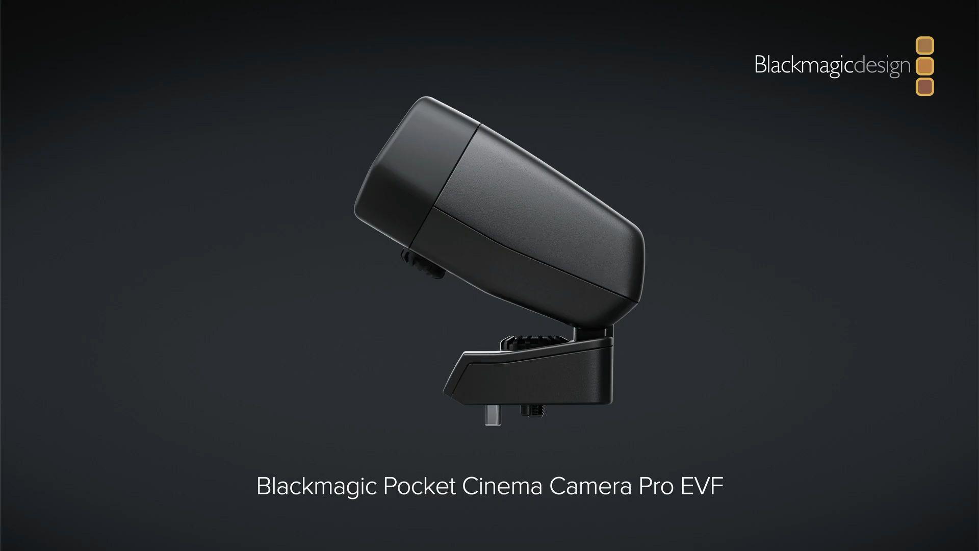 Съемный видоискатель в камере Blackmagic Pocket Cinema Camera 6K Pro