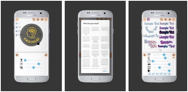 Logo Maer Plus - Aplikasi Membuat Logo Terbaik di Android