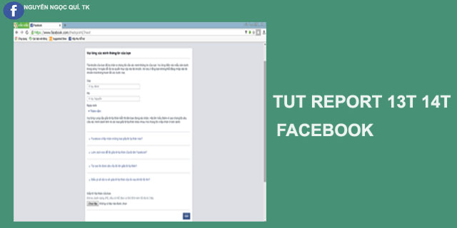 TUT REPORT CHECKPOINT 13T 14T CHO FACEBOOK CỰC CHẤT- NNQ