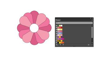 Cara Membuat Bunga sakura di Adobe Illustrator