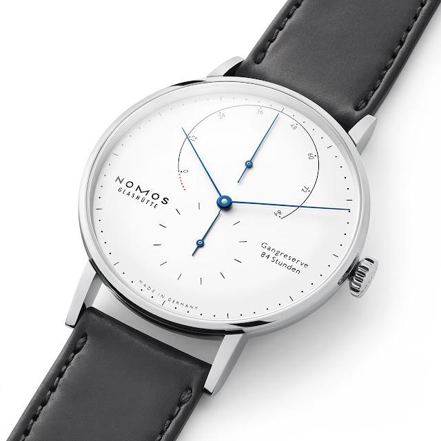 Nomos Glashütte Lambda 175 Years Watchmaking Glashütte white enamel