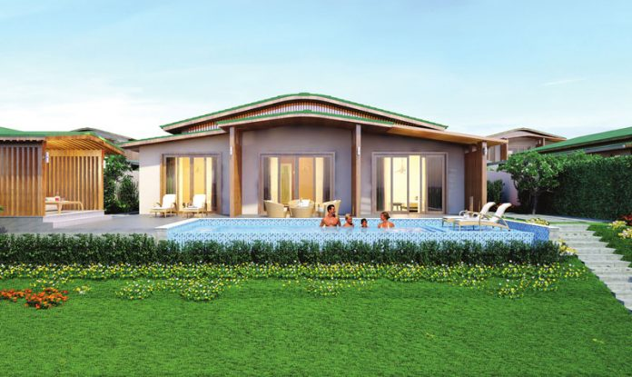 Phối cảnh Movenpick Villas 3 Bedrooms