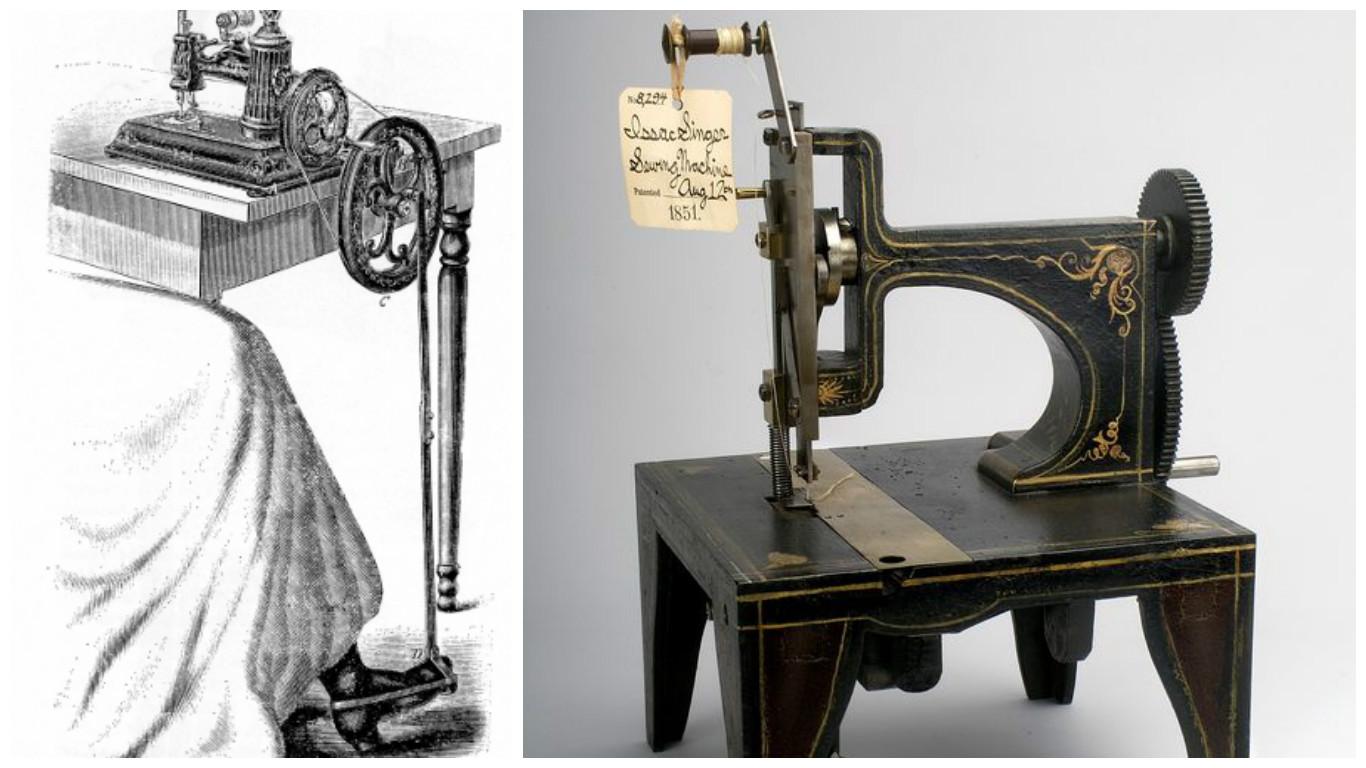 El origen de la máquina de coser - Miss Diseñadora