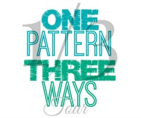 1Pattern:3Ways Blog Tour