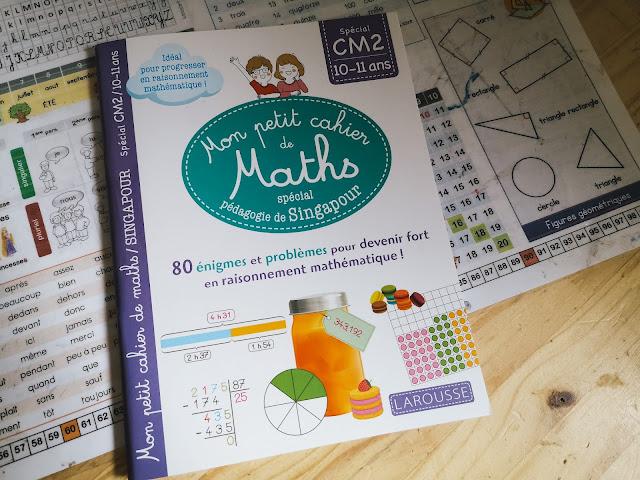 Mon petit cahier de maths méthode Singapour