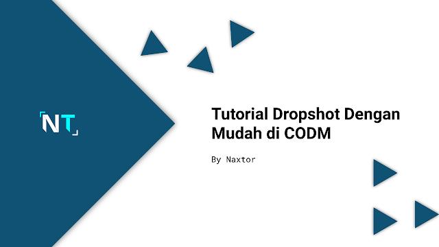 cara melakukan dropshot di CODM