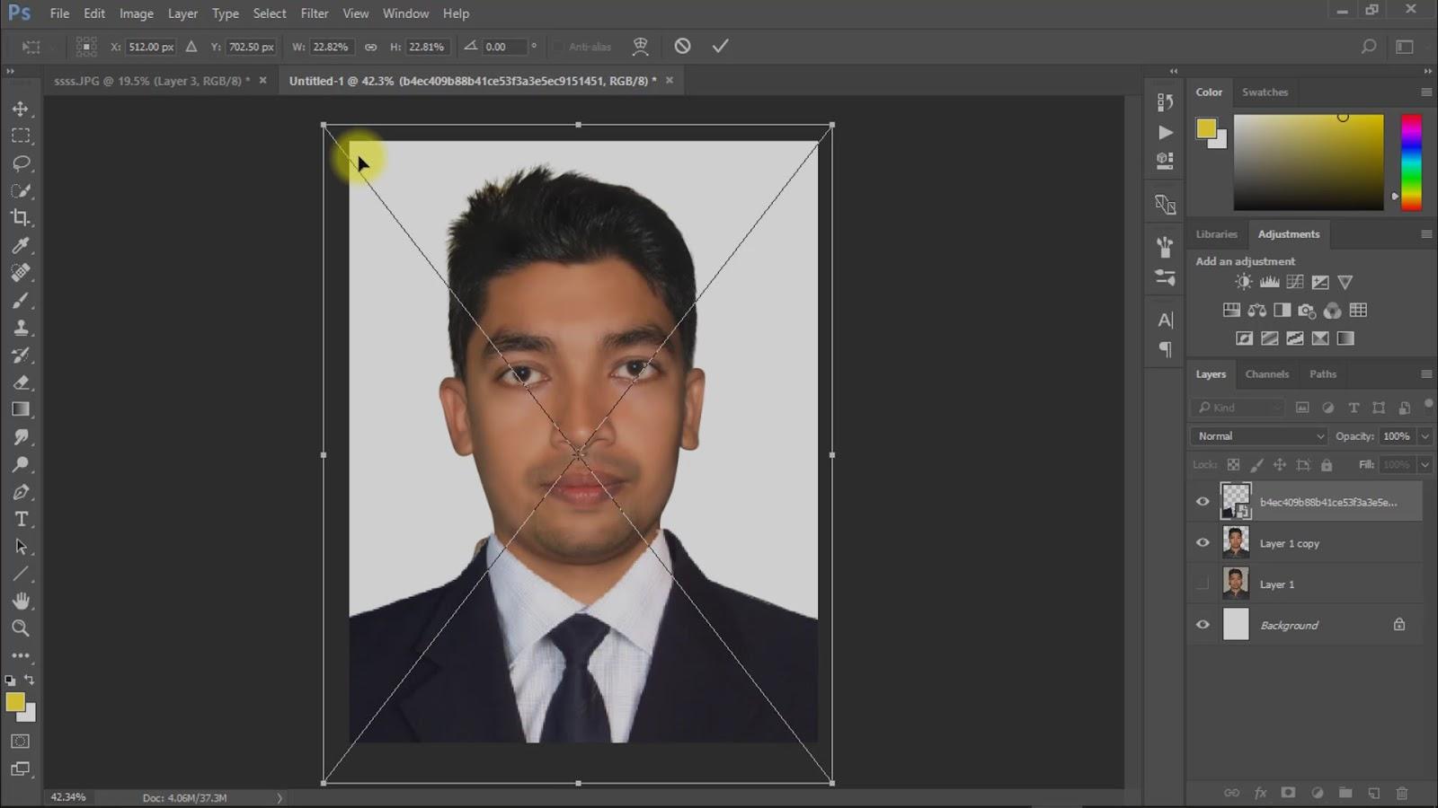 best way to create passport size photo screenshot 5
