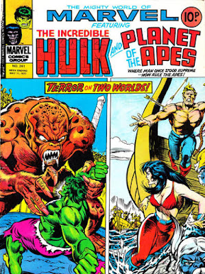 MIghty World of Marvel #241, Hulk and Planet of the Apes