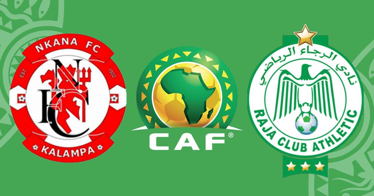 مشاهدة مباراة الرجاء ضد نكانا 28-04-2021 بث مباشر في الكونفدرالية الافريقية