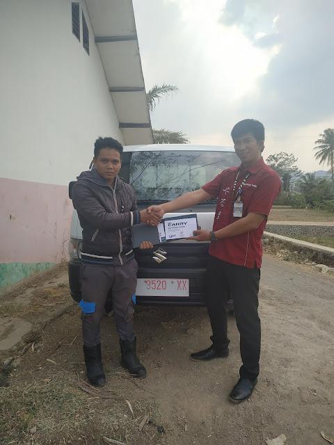 Penyerahan 1 unit new carry FD Suzuki Cianjur