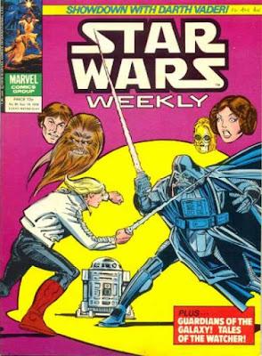 Star Wars #90, Darth Vader vs Luke Skywalker