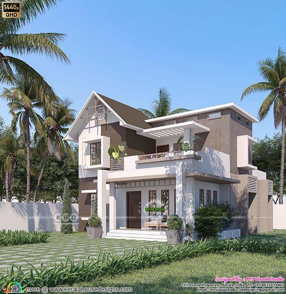 Mixed roof villa type B