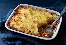 للنباتيين : فطيرة الكوخ الكلاسيكية على الطريقة السويدية vegetarian classic cottage pie.