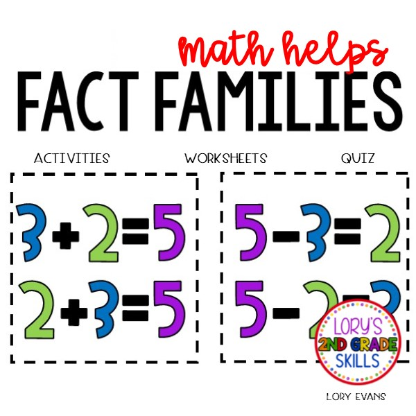 Fact Families Activities