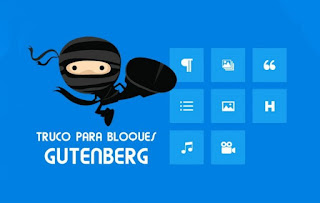 Cómo ocultar bloques de Gutenberg en wordpress