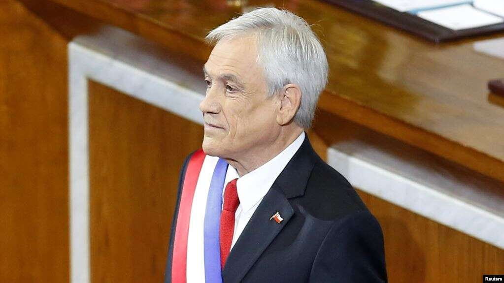 El presidente chileno Sebastián Piñera calificó de