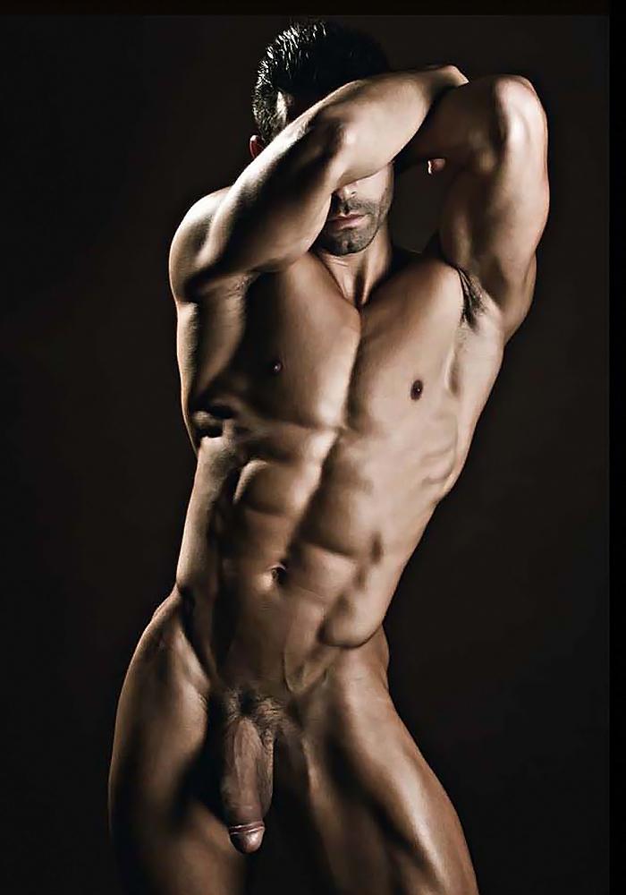 Накаченные голые мужики фото