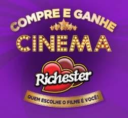 Cadastrar Promoção Richester Cinema Compre e Ganhe Ingresso Cinema