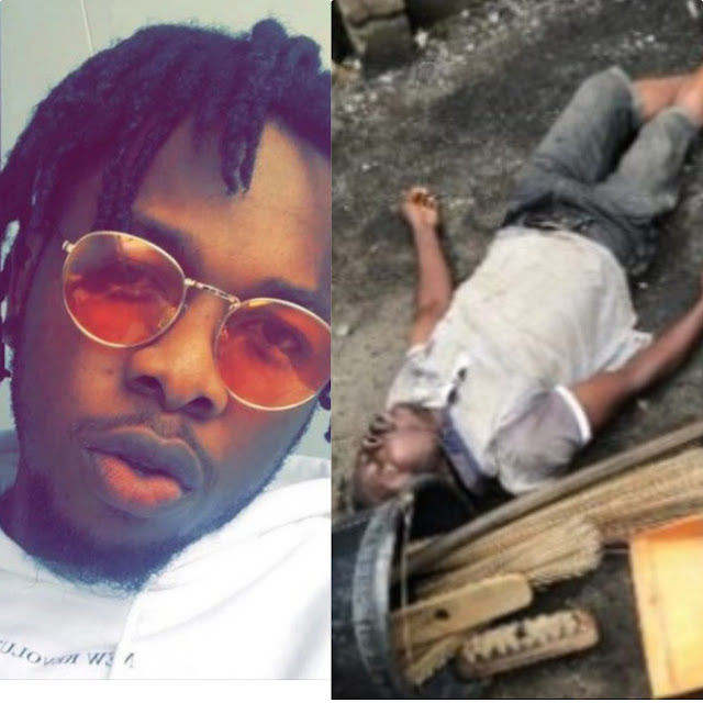 Our Country Is Turning Into A Nightmare Musician, Runtown CRIES OUT Over Killing Of a Cleaner By SARs