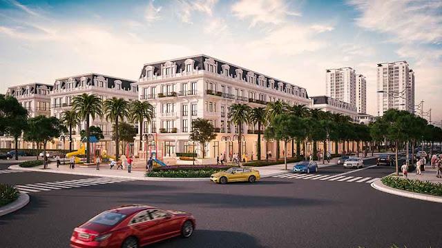 Mua ngay shophouse Calyx Residence dự án 319 Uy Nỗ Đông Anh Hà Nội