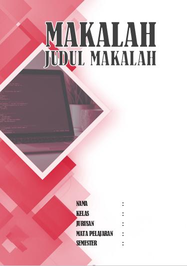 Kumpulan Contoh Jilid/Cover Makalah Microsoft Office Word Kreatif dan Menarik