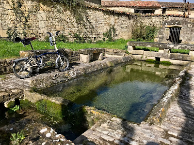 French Village Diaries searching for spring #KTTinyTourer #BromptoninFrance
