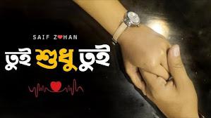 Tui Shudhu Tui Lyrics (তুই শুধু তুই) Saif Zohan