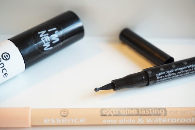 essence rock'n'doll duo stylist eyeliner pen, essence extreme lasting eye pencil,