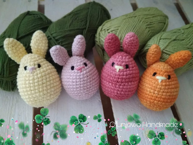 Crochet bunnies by Ofuniowo Handmade