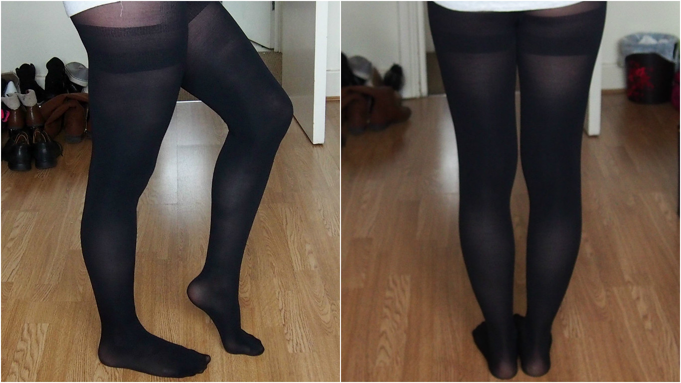 Really. Wearing pantyhose allday idea